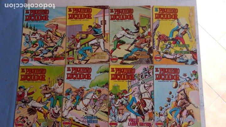 Tebeos: EL PEQUEÑO LUCHADOR COLOR 84 TEBEOS, FALTAN 3 NºS, VER FOTOS - VALENCIANA - Foto 5 - 199066291