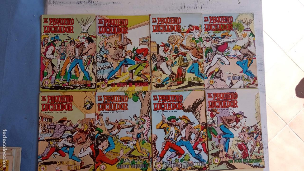Tebeos: EL PEQUEÑO LUCHADOR COLOR 84 TEBEOS, FALTAN 3 NºS, VER FOTOS - VALENCIANA - Foto 15 - 199066291