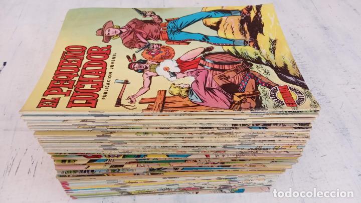 EL PEQUEÑO LUCHADOR COLOR 84 TEBEOS, FALTAN 3 NºS, VER FOTOS - VALENCIANA (Tebeos y Comics - Valenciana - Pequeño Luchador)