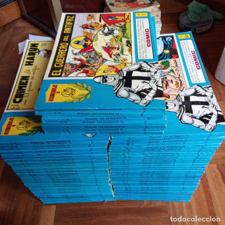 EL GUERRERO DEL ANTIFAZ HOMENAJE A MANUAL GAGO COMPLETA EN MAGNÍFICO ESTADO 1 AL 98 (Tebeos y Comics - Valenciana - Guerrero del Antifaz)