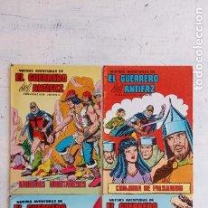 Tebeos: EL GUERRERO DEL ANTIFAZ NUEVAS AVENTURAS NºS - 14,28,30,33. Lote 199121733