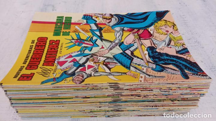 EL GUERRERO DEL ANTIFAZ NUEVAS AVENTURAS LOTE DE 95 TEBEOS - VALENCIANA - MANUEL GAGO GARCÍA (Tebeos y Comics - Valenciana - Guerrero del Antifaz)
