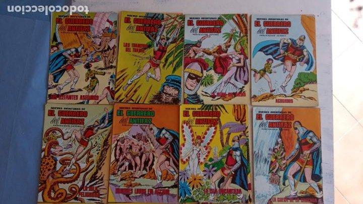 Tebeos: EL GUERRERO DEL ANTIFAZ NUEVAS AVENTURAS LOTE DE 95 TEBEOS - VALENCIANA - MANUEL GAGO GARCÍA - Foto 4 - 199123756