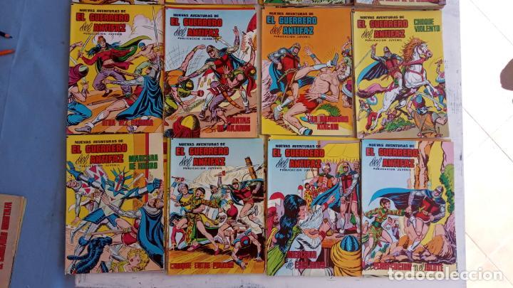Tebeos: EL GUERRERO DEL ANTIFAZ NUEVAS AVENTURAS LOTE DE 95 TEBEOS - VALENCIANA - MANUEL GAGO GARCÍA - Foto 7 - 199123756