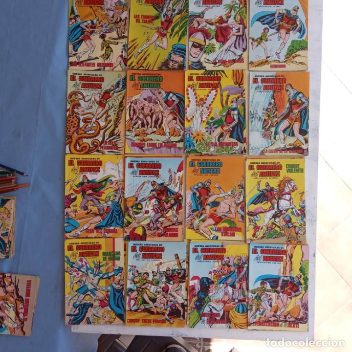 Tebeos: EL GUERRERO DEL ANTIFAZ NUEVAS AVENTURAS LOTE DE 95 TEBEOS - VALENCIANA - MANUEL GAGO GARCÍA - Foto 8 - 199123756