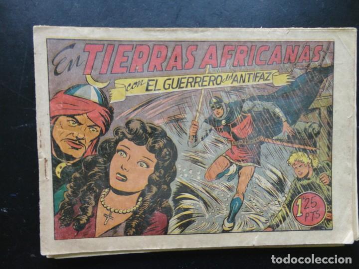 Tebeos: EL GUERRERO DEL ANTIFAZ - 9 Tebeos - Foto 4 - 199292707