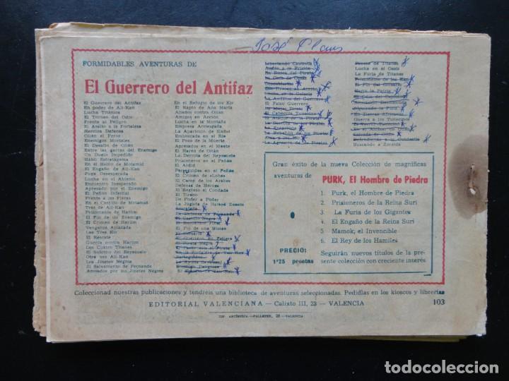 Tebeos: EL GUERRERO DEL ANTIFAZ - 9 Tebeos - Foto 6 - 199292707