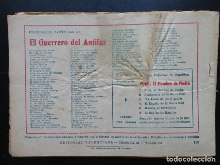 Tebeos: EL GUERRERO DEL ANTIFAZ - 9 Tebeos - Foto 8 - 199292707