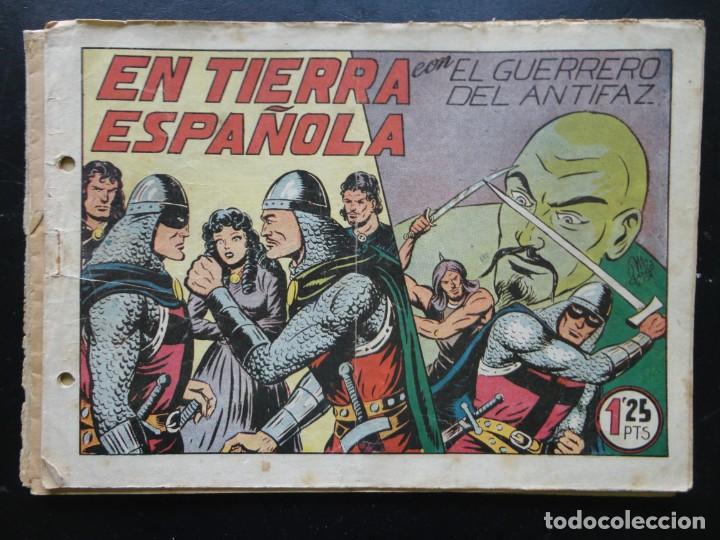 Tebeos: EL GUERRERO DEL ANTIFAZ - 9 Tebeos - Foto 9 - 199292707