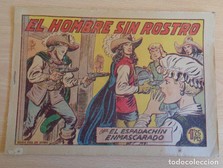 EL ESPADACHÍN ENMASCARADO Nº 232. ORIGINAL. VALENCIANA (Tebeos y Comics - Valenciana - Espadachín Enmascarado)