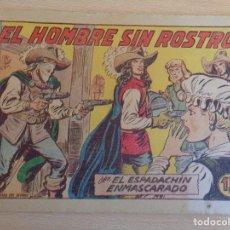 Tebeos: EL ESPADACHÍN ENMASCARADO Nº 232. ORIGINAL. VALENCIANA. Lote 199421017