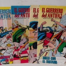 Tebeos: = COMICS : EL GUERRERO DEL ANTIFAF. LOTE DE 4 . - AÑO 1979. =. Lote 199922571