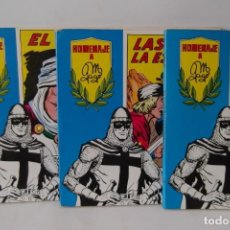 Tebeos: = COMICS : EL GUERRERO DEL ANTIFAF. LOTE DE 3. -HOMENAGE A M. GAGO AÑO 1981-82. =. Lote 199924425