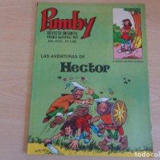 Tebeos: PUMBY Nº 1185. LAS AVENTURAS DE HECTOR. VALENCIANA. MUY BUEN ESTADO. Lote 199958671