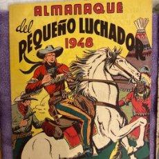 Giornalini: ALMANAQUE PEQUEÑO LUCHADOR 1948 IMPECABLE. Lote 200088032