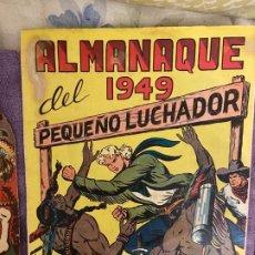 Giornalini: ALMANAQUE PEQUEÑO LUCHADOR ALMANAQUE 1949. Lote 200088307