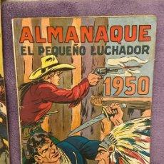 Giornalini: ALMANAQUE PEQUEÑO LUCHADOR 1950 BUEN ESTADO. Lote 200088553