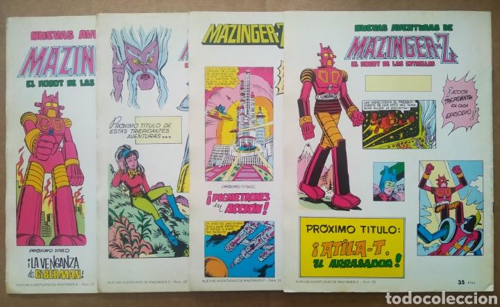 Tebeos: Lote Nuevas Aventuras de Mazinger-Z El Robot de las Estrellas: números 20-21-22-23 (Valenciana). - Foto 2 - 200130397