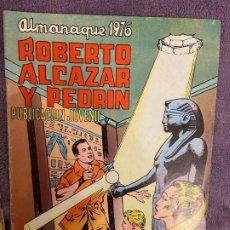 Livros de Banda Desenhada: ROBERTO ALCAZAR Y PEDRIN ALMANAQUE 1976 BUEN ESTADO 3. Lote 200603846