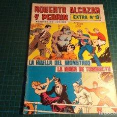 Livros de Banda Desenhada: ROBERTO ALCAZAR EXTRA 2°. N° 19. VALENCIANA. (B-32). Lote 200611975