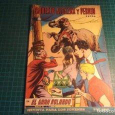 Livros de Banda Desenhada: ROBERTO ALCAZAR EXTRA 1°. N° 25. VALENCIANA. (B-32). Lote 200612397