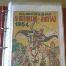 Tebeos: GUERRERO DEL ANTIFAZ , LOTE DE 19 ALMANAQUES ,BUEN ESTADO ORIGINALES. Lote 200812132