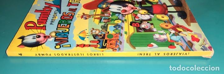 Tebeos: CÓMIC LIBROS ILUSTRADOS PUMBY N 4 VIAJEROS AL TREN EDITORIAL VALENCIANA 1968 - Foto 3 - 201716613