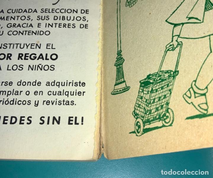 Tebeos: CÓMIC LIBROS ILUSTRADOS PUMBY N 4 VIAJEROS AL TREN EDITORIAL VALENCIANA 1968 - Foto 7 - 201716613
