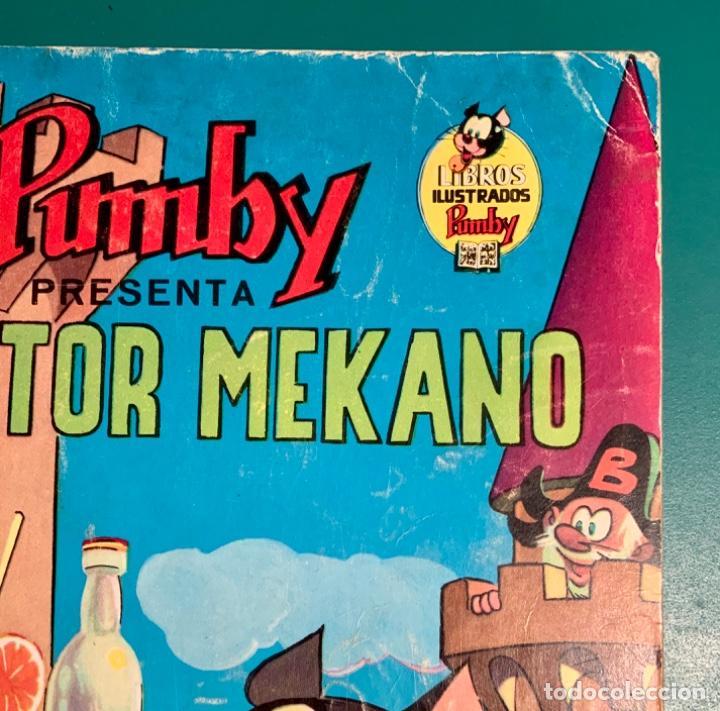 Tebeos: CÓMIC LIBROS ILUSTRADOS PUMBY N 7 EL DOCTOR MEKANO EDITORIAL VALENCIANA 1968 - Foto 7 - 201717482