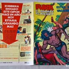 Tebeos: COMIC PURK EL HOMBRE DE PIEDRA EXTRA DE VACACIONES. 1974. Lote 201942705