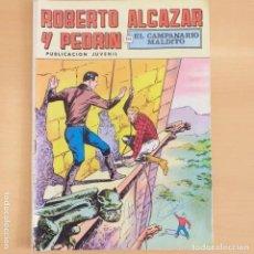 Tebeos: ROBERTO ALCAZAR Y PEDRIN - EL CAMPANARIO MALDITO. VALENCIANA. NUM 37. Lote 202113886