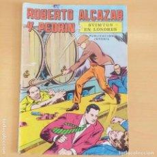 Tebeos: ROBERTO ALCAZAR Y PEDRIN - SVIMTUS EN LONDRES. VALENCIANA. NUM 7. Lote 202113960
