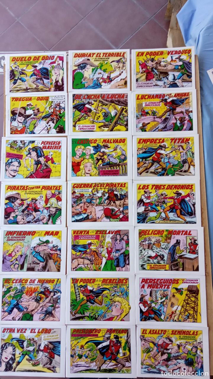 Tebeos: EL ESPADACHÍN ENMASCARADO 1981 50 PTS 56 TEBEOS - 21 AL 66, 68,69,5,6,7,8,13,14,15,16 - Foto 2 - 202557187