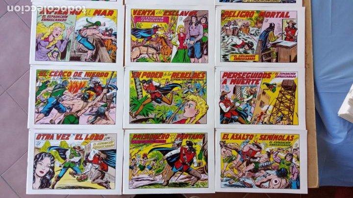Tebeos: EL ESPADACHÍN ENMASCARADO 1981 50 PTS 56 TEBEOS - 21 AL 66, 68,69,5,6,7,8,13,14,15,16 - Foto 4 - 202557187