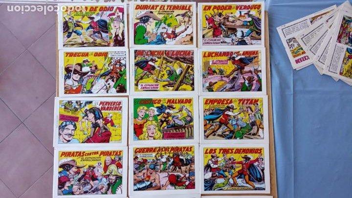 Tebeos: EL ESPADACHÍN ENMASCARADO 1981 50 PTS 56 TEBEOS - 21 AL 66, 68,69,5,6,7,8,13,14,15,16 - Foto 5 - 202557187