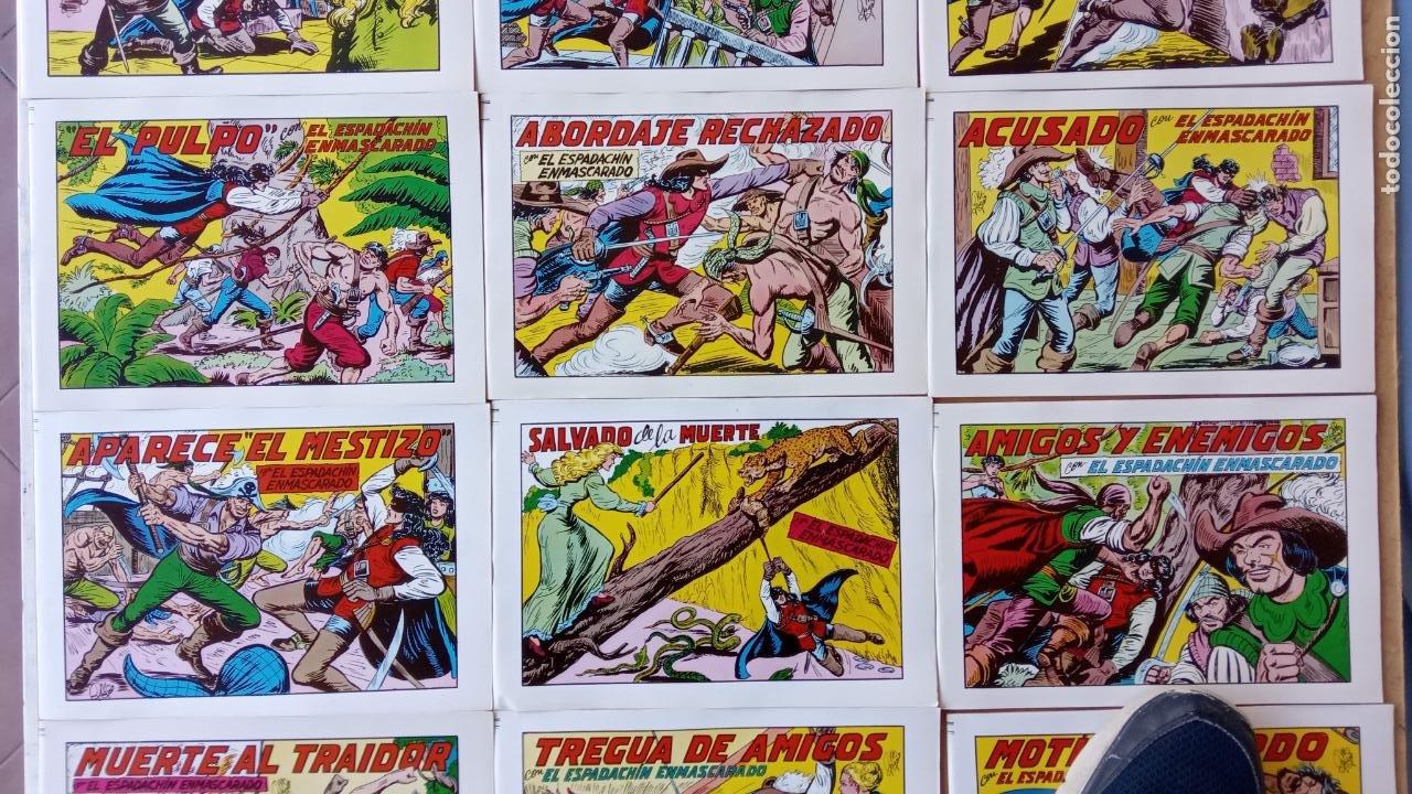 Tebeos: EL ESPADACHÍN ENMASCARADO 1981 50 PTS 56 TEBEOS - 21 AL 66, 68,69,5,6,7,8,13,14,15,16 - Foto 10 - 202557187
