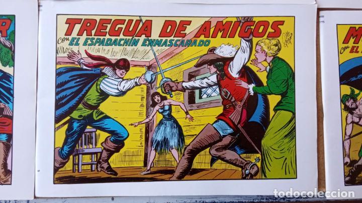 Tebeos: EL ESPADACHÍN ENMASCARADO 1981 50 PTS 56 TEBEOS - 21 AL 66, 68,69,5,6,7,8,13,14,15,16 - Foto 13 - 202557187