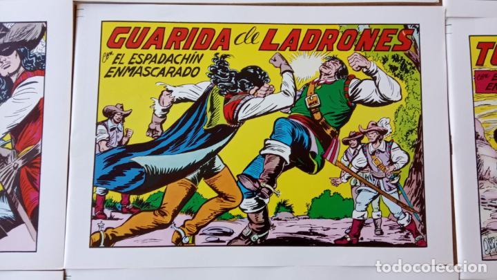 Tebeos: EL ESPADACHÍN ENMASCARADO 1981 50 PTS 56 TEBEOS - 21 AL 66, 68,69,5,6,7,8,13,14,15,16 - Foto 14 - 202557187