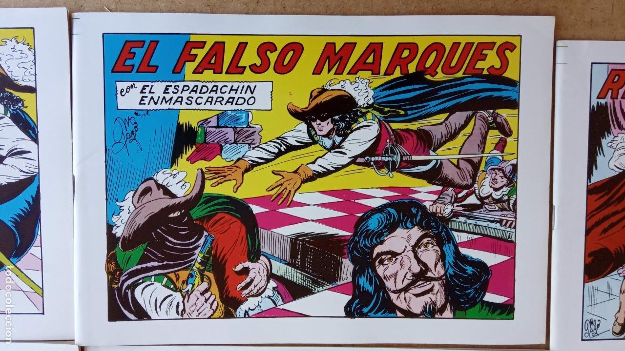Tebeos: EL ESPADACHÍN ENMASCARADO 1981 50 PTS 56 TEBEOS - 21 AL 66, 68,69,5,6,7,8,13,14,15,16 - Foto 15 - 202557187