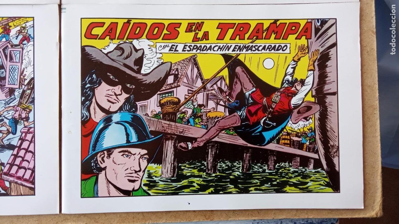 Tebeos: EL ESPADACHÍN ENMASCARADO 1981 50 PTS 56 TEBEOS - 21 AL 66, 68,69,5,6,7,8,13,14,15,16 - Foto 22 - 202557187