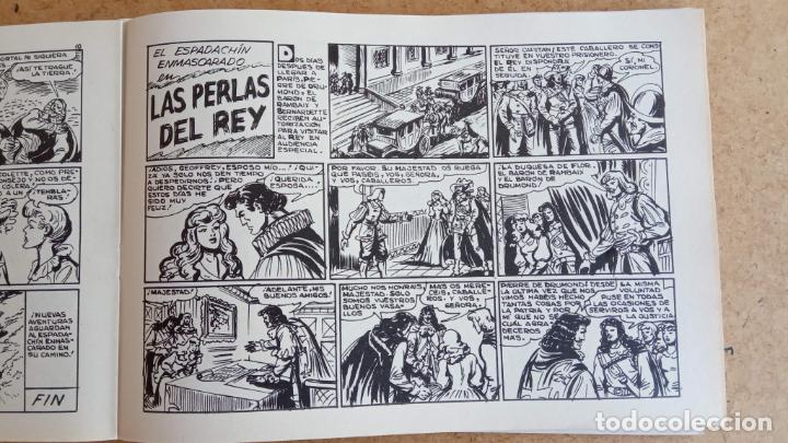 Tebeos: EL ESPADACHÍN ENMASCARADO 1981 50 PTS 56 TEBEOS - 21 AL 66, 68,69,5,6,7,8,13,14,15,16 - Foto 27 - 202557187