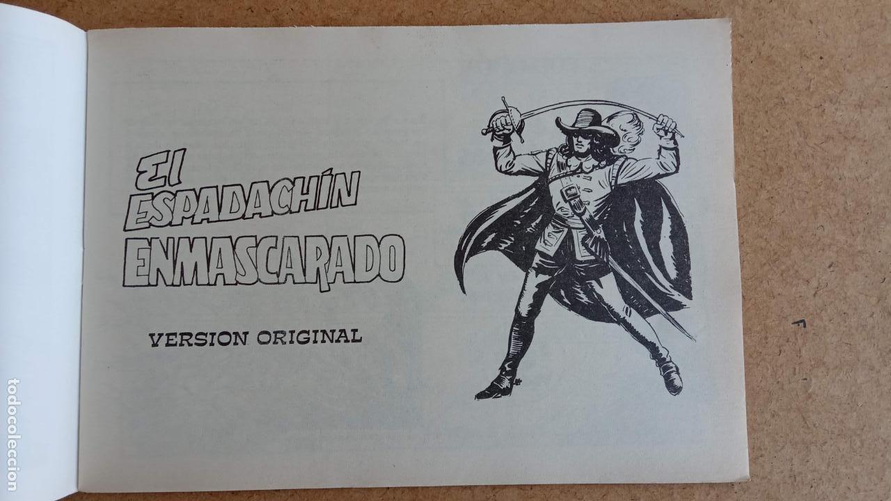 Tebeos: EL ESPADACHÍN ENMASCARADO 1981 50 PTS 56 TEBEOS - 21 AL 66, 68,69,5,6,7,8,13,14,15,16 - Foto 28 - 202557187