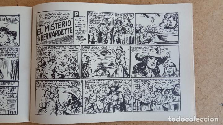 Tebeos: EL ESPADACHÍN ENMASCARADO 1981 50 PTS 56 TEBEOS - 21 AL 66, 68,69,5,6,7,8,13,14,15,16 - Foto 31 - 202557187