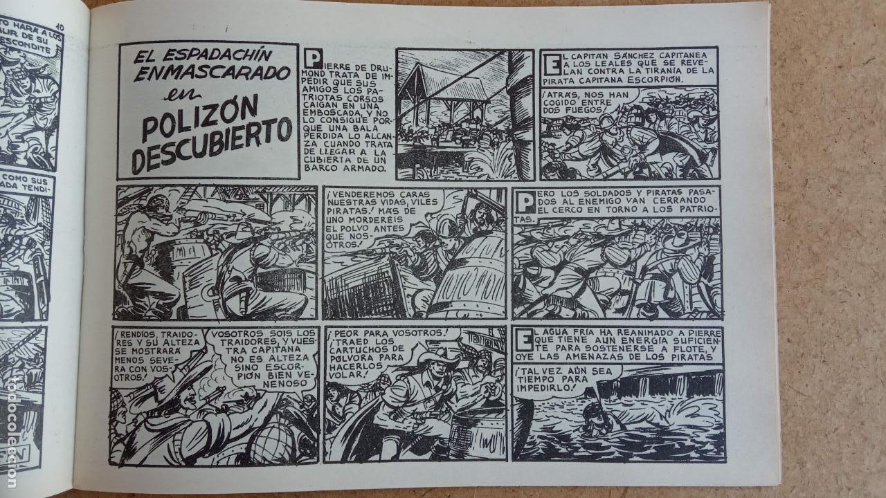 Tebeos: EL ESPADACHÍN ENMASCARADO 1981 50 PTS 56 TEBEOS - 21 AL 66, 68,69,5,6,7,8,13,14,15,16 - Foto 33 - 202557187