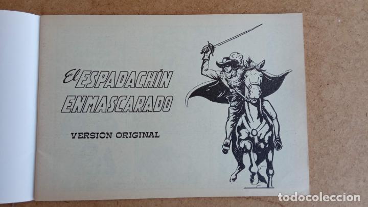 Tebeos: EL ESPADACHÍN ENMASCARADO 1981 50 PTS 56 TEBEOS - 21 AL 66, 68,69,5,6,7,8,13,14,15,16 - Foto 36 - 202557187