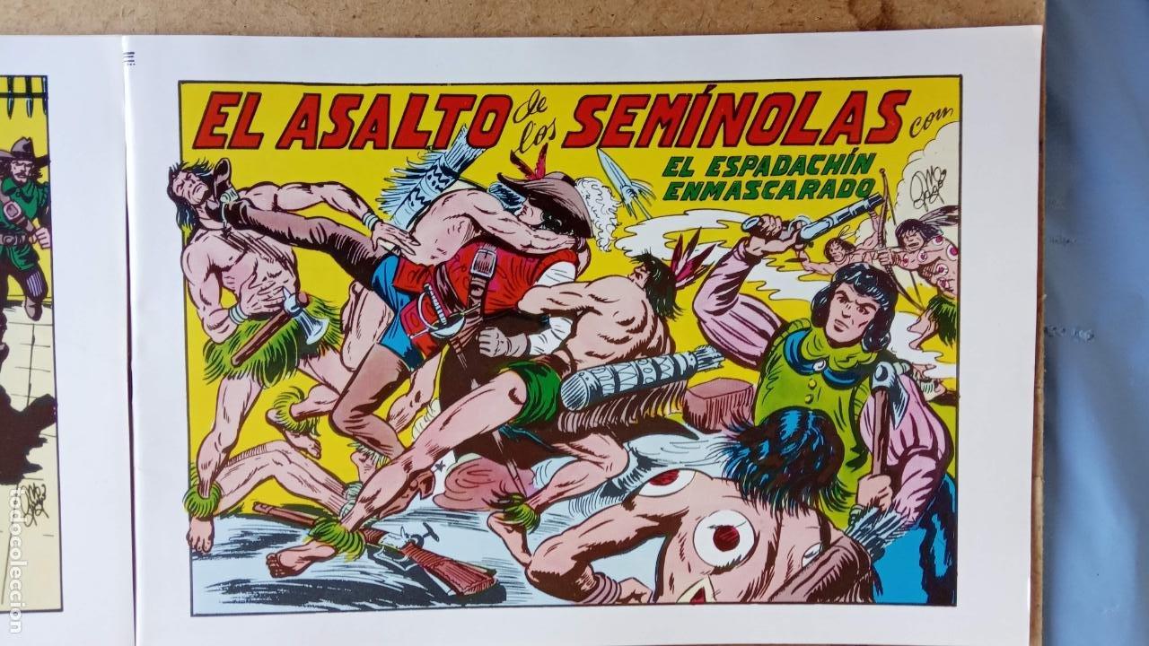 Tebeos: EL ESPADACHÍN ENMASCARADO 1981 50 PTS 56 TEBEOS - 21 AL 66, 68,69,5,6,7,8,13,14,15,16 - Foto 48 - 202557187
