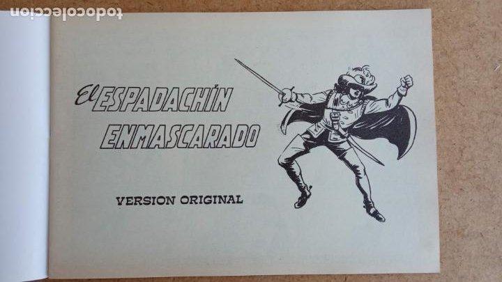 Tebeos: EL ESPADACHÍN ENMASCARADO 1981 50 PTS 56 TEBEOS - 21 AL 66, 68,69,5,6,7,8,13,14,15,16 - Foto 59 - 202557187
