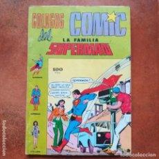 Tebeos: COLOSOS DEL COMIC. LA FAMILIA SUPERMAN NUMS 7 8 Y 9. RETAPADO.. Lote 202963193