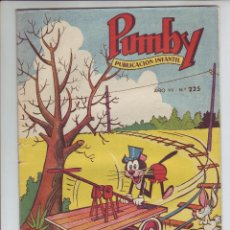 Tebeos: PUMBY - REVISTA INFANTIL - Nº 225 - AÑO VII. Lote 203406033