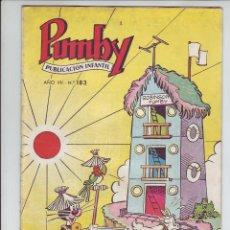 Tebeos: PUMBY - REVISTA INFANTIL - Nº 183 - AÑO VII. Lote 203406096